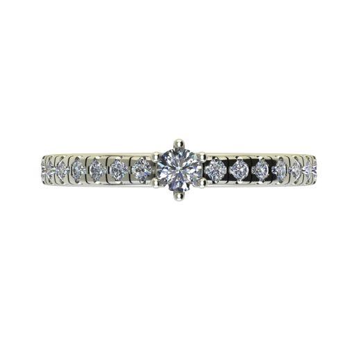 Годежен Пръстен бяло злато с диамант Nova 0,33 ct. 2548 a