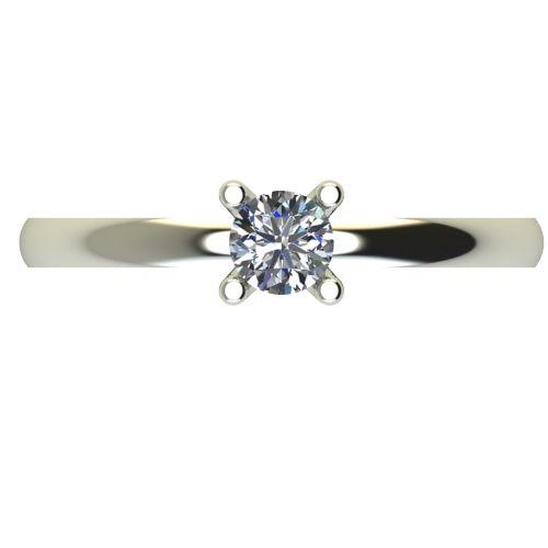 Годежен Пръстен бяло злато с диамант Cante 0,25 ct. 2578 a