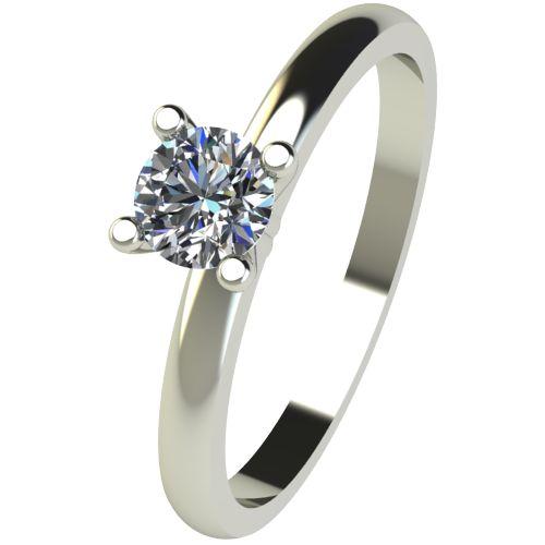 Годежен Пръстен бяло злато с диамант Cante 0,25 ct. 2578