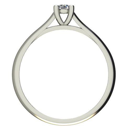 Годежен Пръстен бяло злато с диамант Ether 0,12 ct. 2601 b