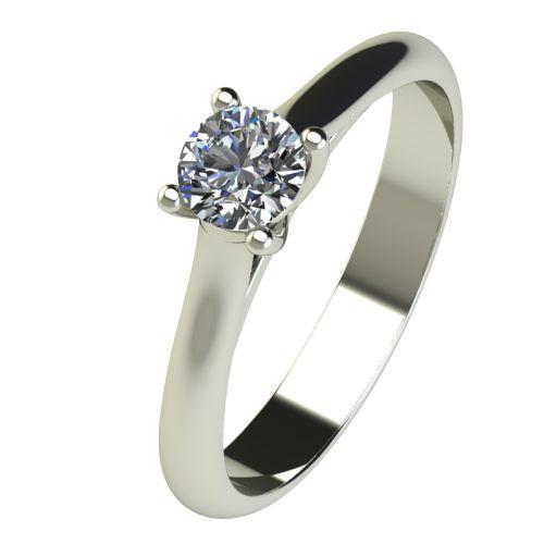 Годежен Пръстен бяло злато с диамант Ether 0,25 ct. 2603