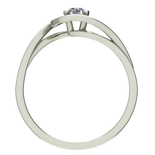 Годежен Пръстен бяло злато с диамант Forth 0,17 ct. 2595 b