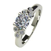 Годежен Пръстен бяло злато с диамант Grape 0,34 ct. 2604