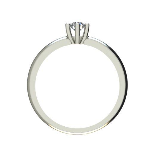 Годежен Пръстен бяло злато с диамант Impulse 0,17 ct. 2591 b