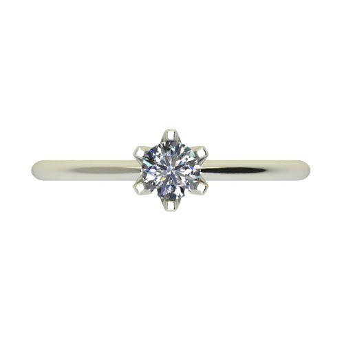 Годежен Пръстен бяло злато с диамант Nova 0,25 ct. 2598 a
