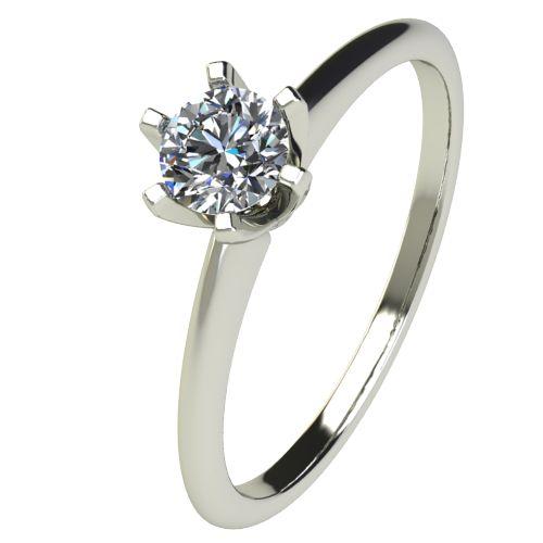 Годежен Пръстен бяло злато с диамант Nova 0,25 ct. 2598