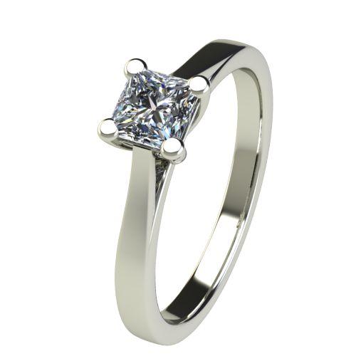 Годежен Пръстен бяло злато с диамант Cante 0,49 ct. 2623