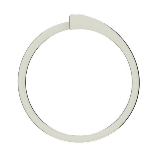 Годежен Пръстен бяло злато с диамант Close 0,12 ct. 2625 b