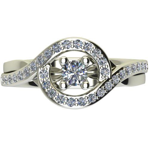 Годежен Пръстен бяло злато с диамант Forth 0,57 ct. 2624 a