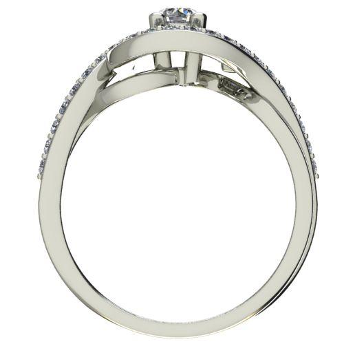 Годежен Пръстен бяло злато с диамант Forth 0,57 ct. 2624 b