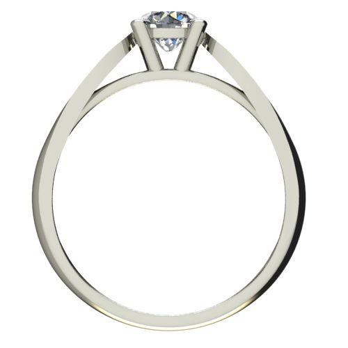 Годежен Пръстен бяло злато с диамант Thin 0,36 ct. 2632 b