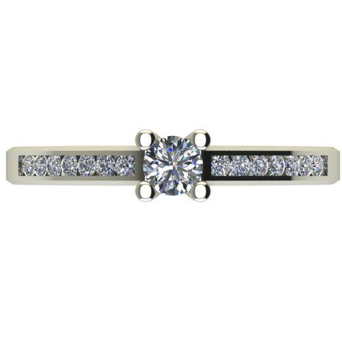 Годежен Пръстен бяло злато с диамант Decor 0,31 ct. 2639 a