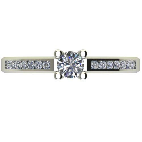 Годежен Пръстен бяло злато с диамант Decor 0,39 ct. 2641 a