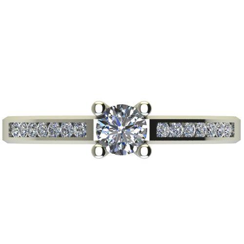 Годежен Пръстен бяло злато с диамант Decor 0,50 ct. 2642 a