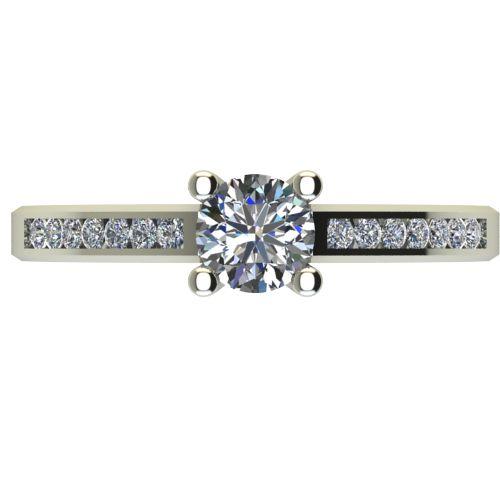 Годежен Пръстен бяло злато с диамант Decor 0,71 ct. 2643 a