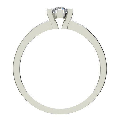 Годежен Пръстен бяло злато с диамант Cante 0,17 ct. 2671 b