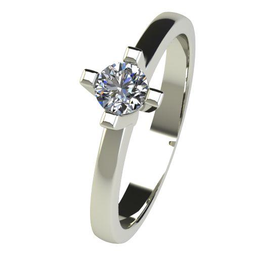 Годежен Пръстен бяло злато с диамант Cante 0,25 ct. 2672
