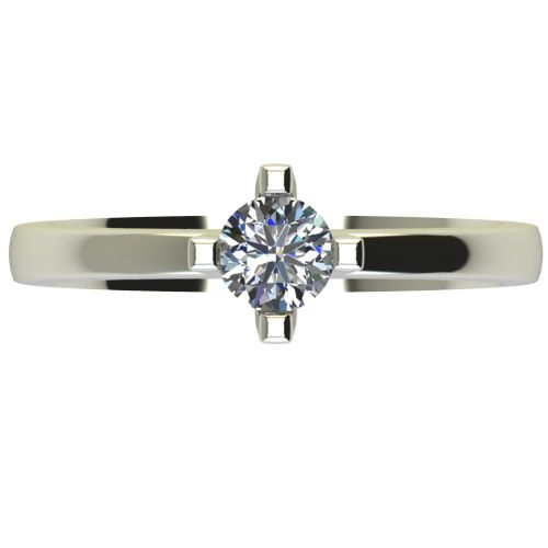 Годежен Пръстен бяло злато с диамант Cante 0,36 ct. 2673 a