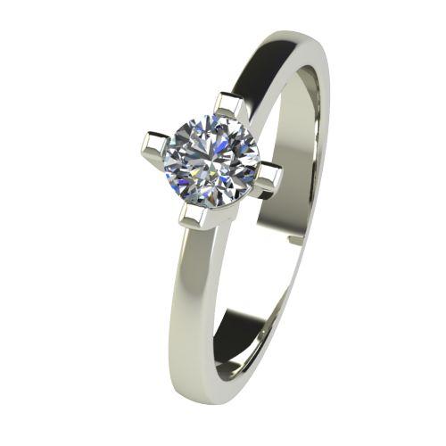 Годежен Пръстен бяло злато с диамант Cante 0,36 ct. 2673