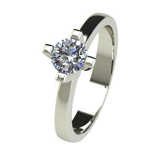 Годежен Пръстен бяло злато с диамант Cante 0,50 ct. 2674