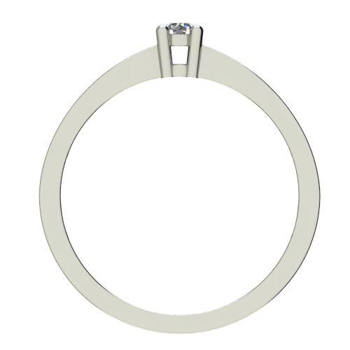 Годежен Пръстен бяло злато с диамант Decor 0,28 ct. 2658 b