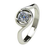 Годежен Пръстен бяло злато с диамант Unity 0,50 ct. 2664