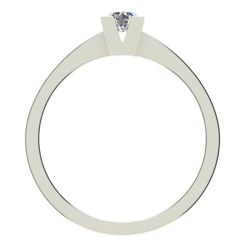 Годежен Пръстен бяло злато с диамант Cante 0,17 ct. 2712 b