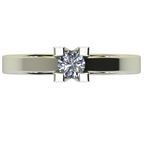 Годежен Пръстен бяло злато с диамант Cante 0,25 ct. 2713 a