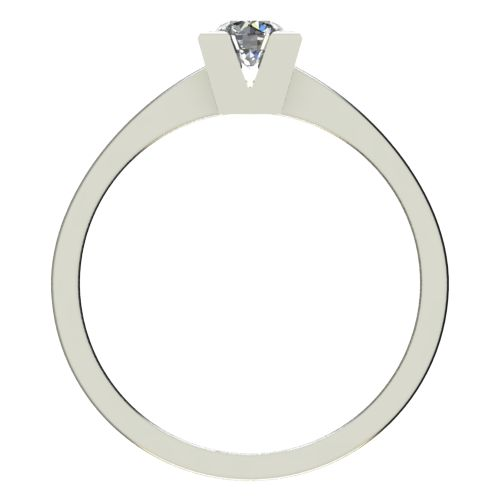 Годежен Пръстен бяло злато с диамант Cante 0,25 ct. 2713 b