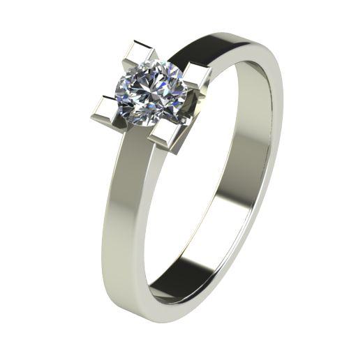Годежен Пръстен бяло злато с диамант Cante 0,36 ct. 2714