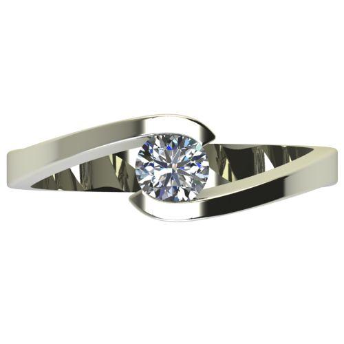 Годежен Пръстен бяло злато с диамант Close 0,36 ct. 2725 a