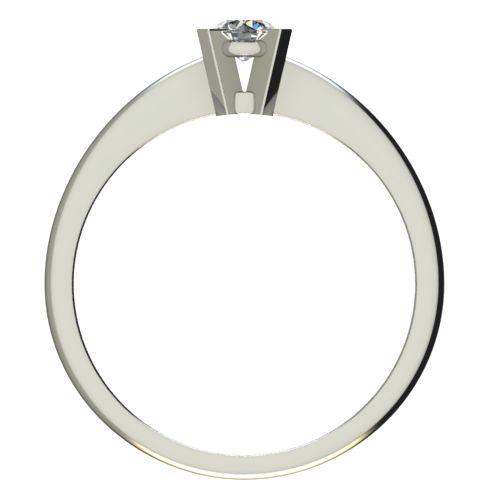 Годежен Пръстен бяло злато с диамант Ether 0,17 ct. 2699 b
