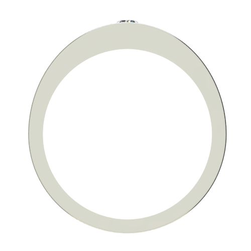 Годежен Пръстен бяло злато с диамант Eyes 0,04 ct. 2715 b