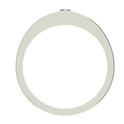 Годежен Пръстен бяло злато с диамант Eyes 0,17 ct. 2718 b
