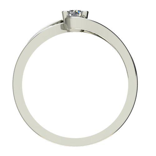 Годежен Пръстен бяло злато с диамант Forth 0,17 ct. 2702 b