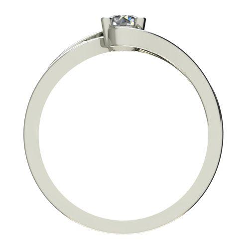 Годежен Пръстен бяло злато с диамант Forth 0,25 ct. 2732 b
