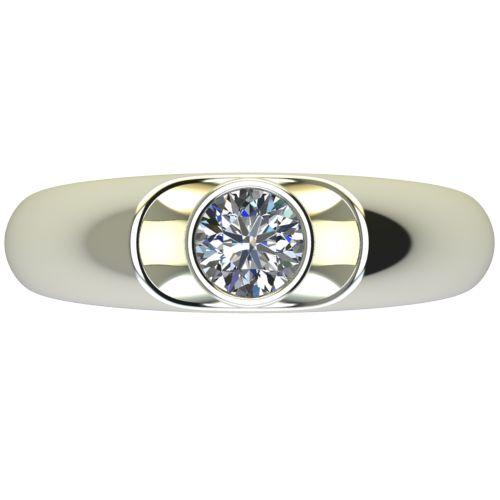 Годежен Пръстен бяло злато с диамант Moon 0,36 ct. 2695 a