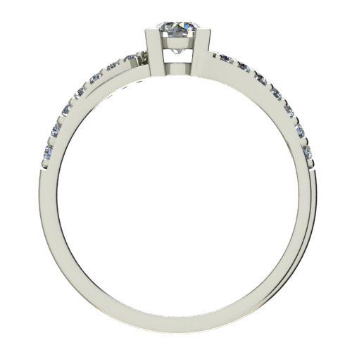 Годежен Пръстен бяло злато с диамант Vision 0,45 ct. 2731 b