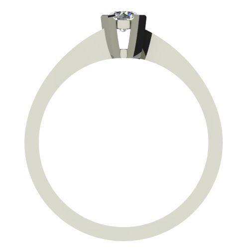 Годежен Пръстен бяло злато с диамант Chase 0,17 ct. 2736 b