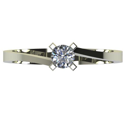 Годежен Пръстен бяло злато с диамант Chase 0,25 ct. 2737 a