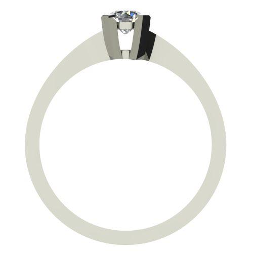 Годежен Пръстен бяло злато с диамант Chase 0,25 ct. 2737 b