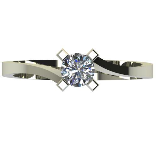 Годежен Пръстен бяло злато с диамант Chase 0,36 ct. 2738 a