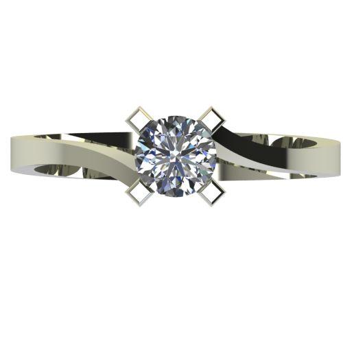 Годежен Пръстен бяло злато с диамант Chase 0,50 ct. 2739 a